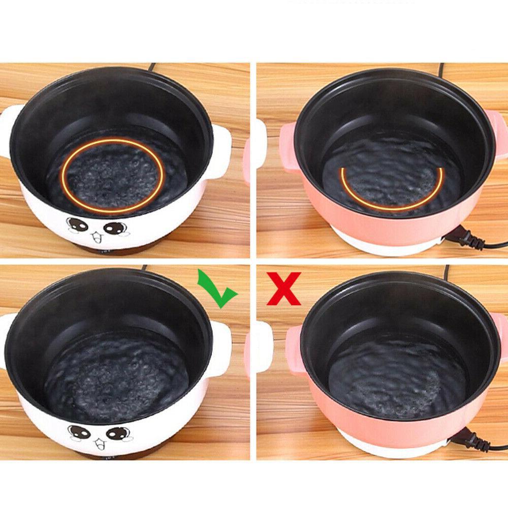 2.3L Electric Skillet Pot Non Stick Rice Porridge