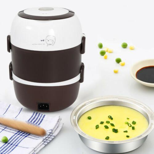 Portable Layers Electric Pot Rice Warmer