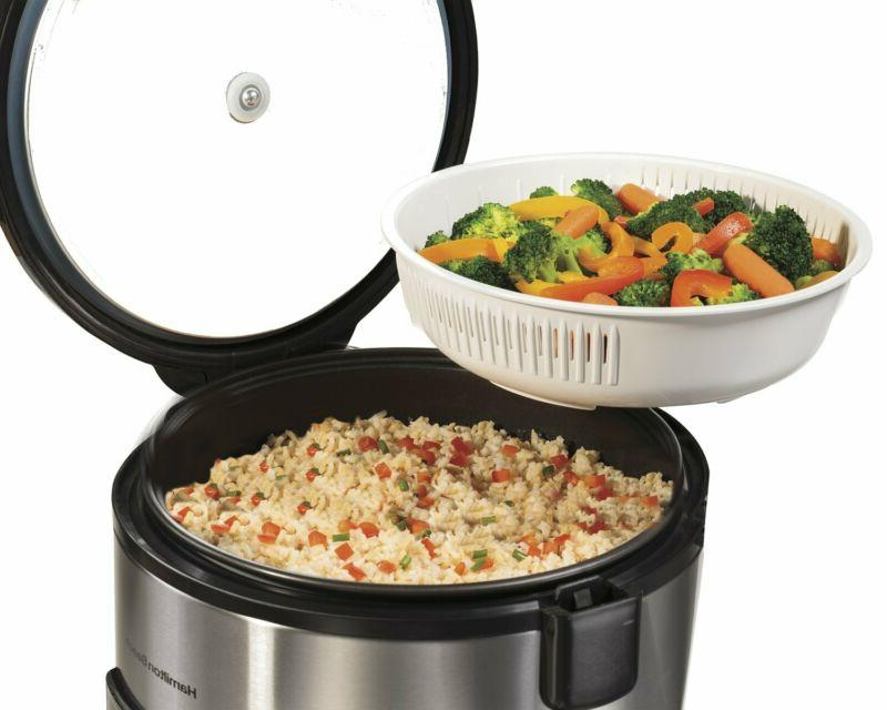 Hamilton Rice Cooker, 7 Cups In Cooked