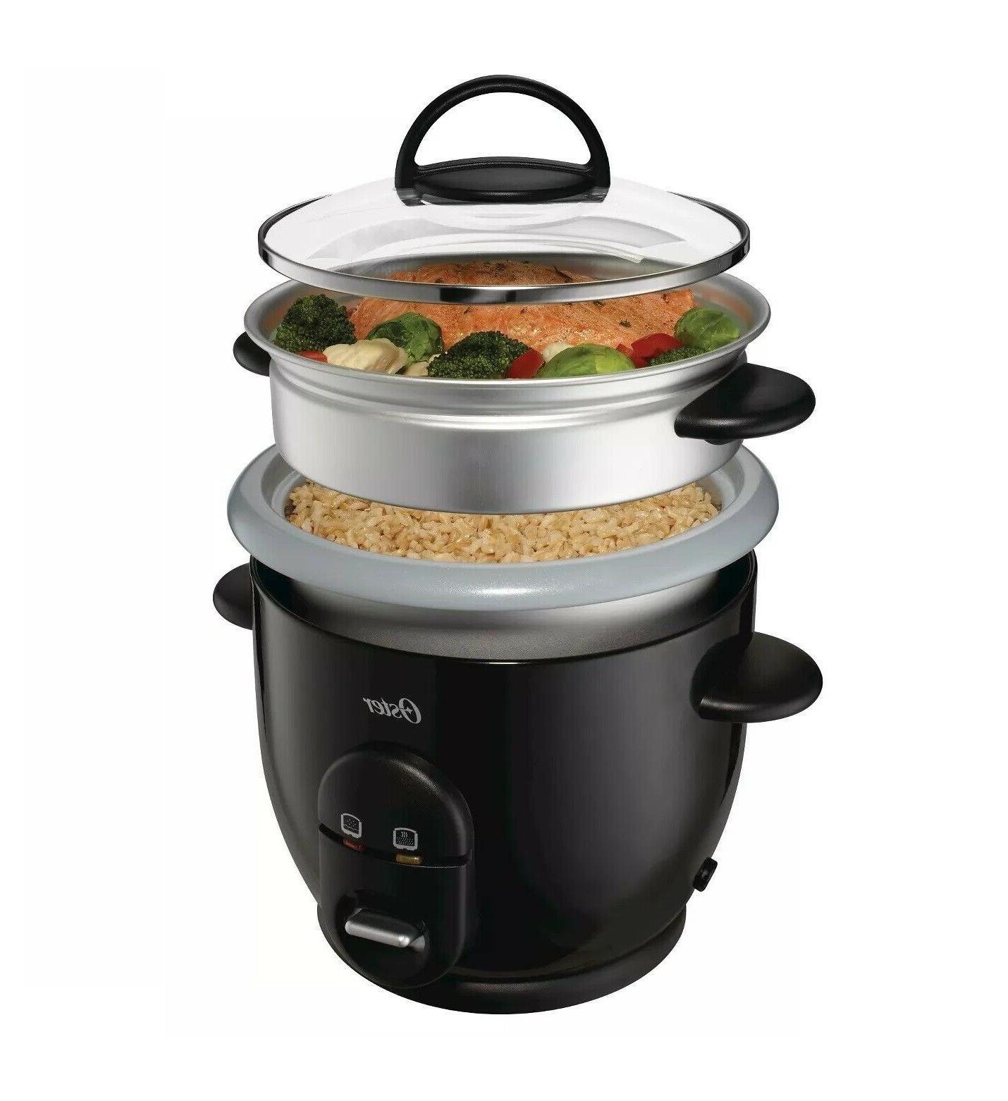6 cup rice cooker non stick auto