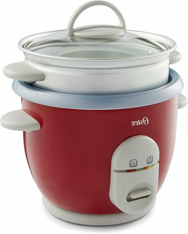 Oster 6-Cup Rice Cooker with Steamer,