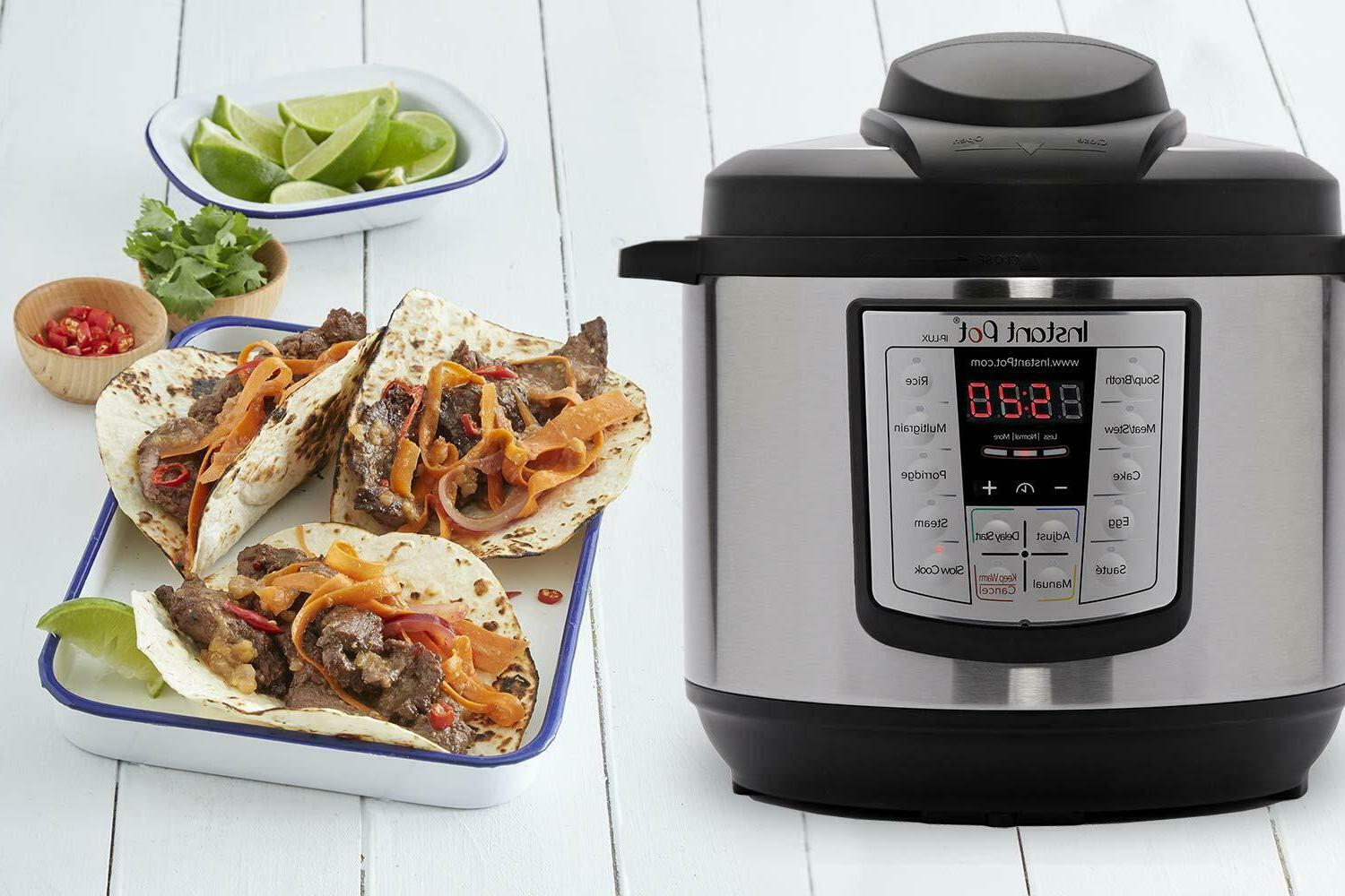 6 6-in-1 Programmable Cooker, Slow Cooker,