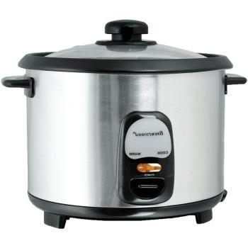 Brentwood Steel 10-Cup Cooker, 1
