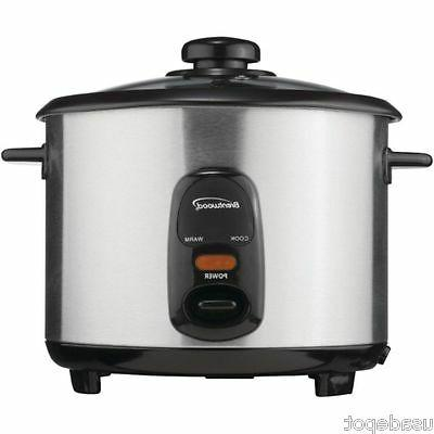 Brentwood Appliances TS-20 Stainless Steel 10-Cup Rice Cooke