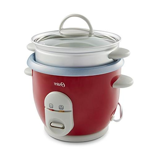 Oster 6-Cup Rice with Steamer,