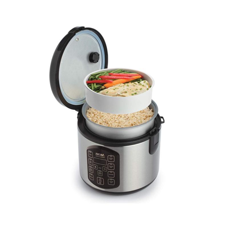 Aroma Housewares Cooker, 4-Cup Quart,