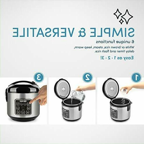 Aroma 8C Rice and Steamer,