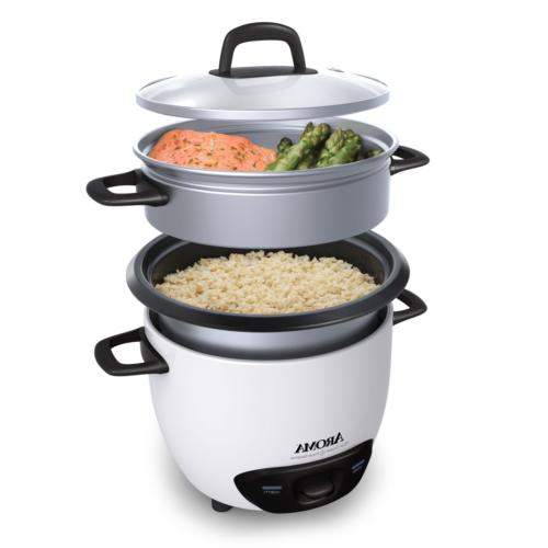 Aroma Housewares 6-Cup 3-Cup Rice Cooker and