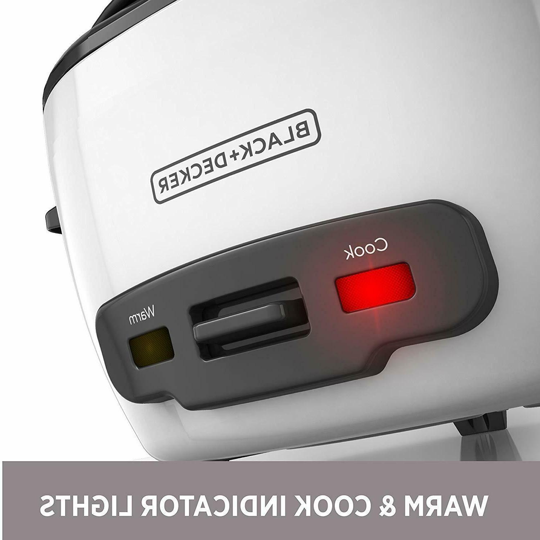 Rice Steamer Decker Warmer Nonstick Pot Cup 300W