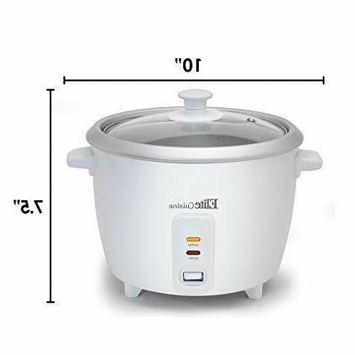 Best Small Rice Cooker Maker Warmer Kitchen Brown