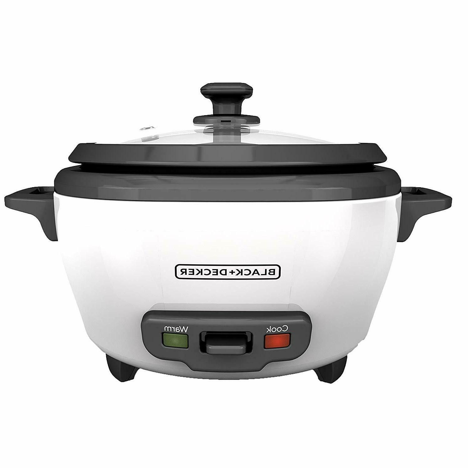 Rice Cooker And Food Steamer Basket Black Decker Warmer Nons