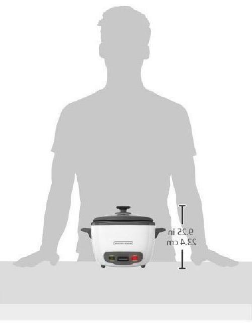BLACK+DECKER 16-Cup Cooked/8-Cup Rice and Food