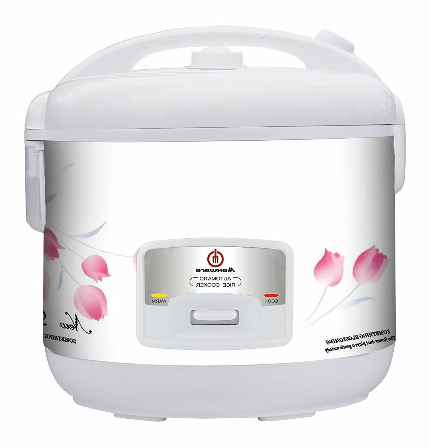 deluxe rice cooker with non stick inner
