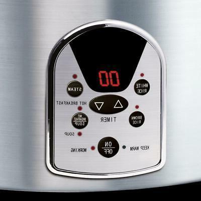 Digital Cup Kitchen Black Steel