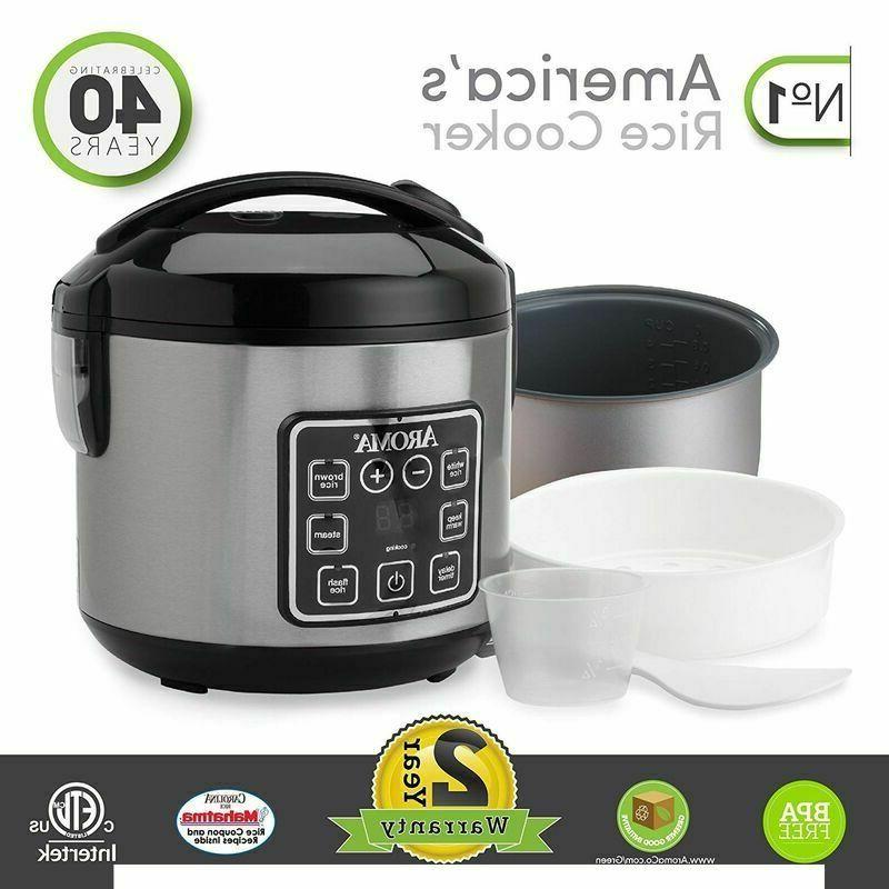 Digital Food Stainless 8 Cup Cooked
