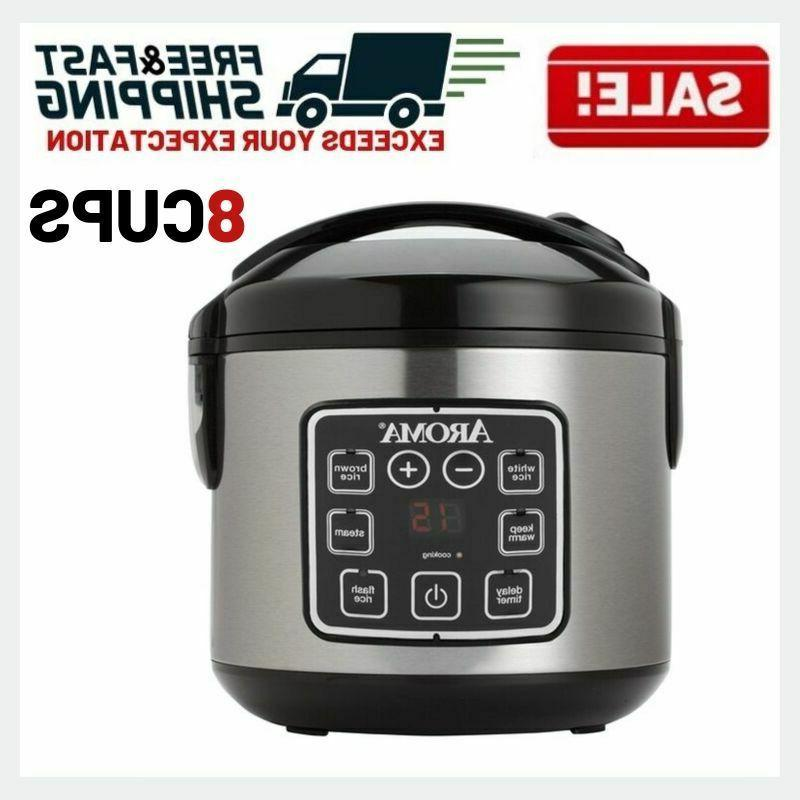 digital rice cooker slow food steamer stainless