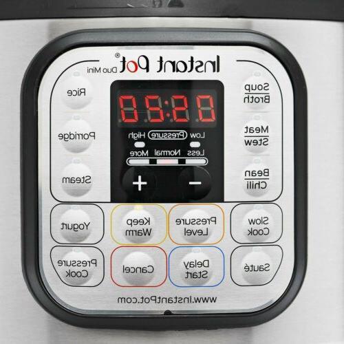 Instant Duo 7 1 Pressure Cooker Qt