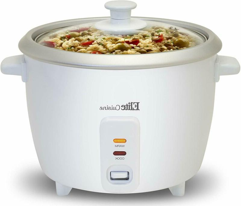 Elite Cuisine ERC-003 Electric Rice Cooker with Automatic Ke