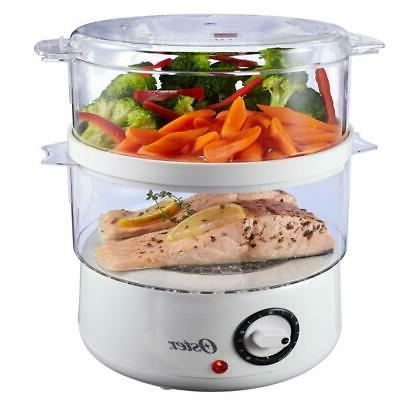 Food Rice Electric Kitchen Cooking Steam Bowl Quart White Home