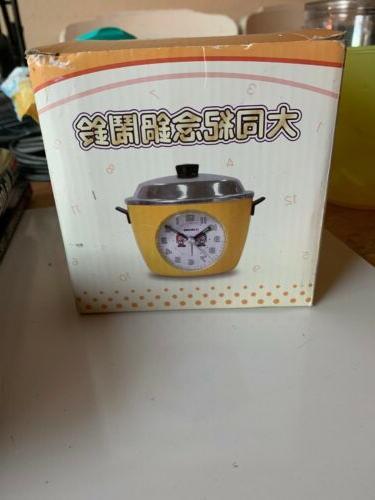 mini rice cooker alarm clock green b