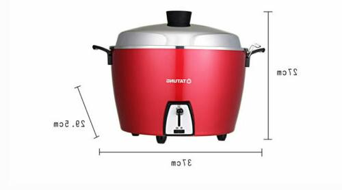 NEW SUS-304 Rice Cooker RED