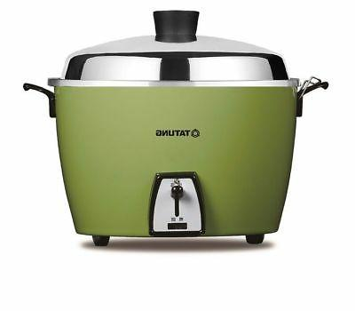 New TATUNG CUP Rice Cooker Pot AC 110V - Green - Free Ship