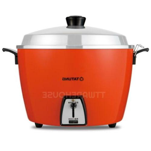 NEW TATUNG TAC-20L-DV2R 20-CUP Rice Cooker  AC 220V -RED