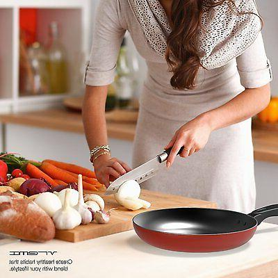 Non Stick Cookware Pans and Piece Coating Kitchen