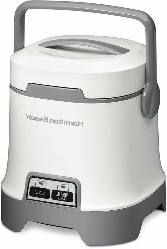 oatmeal and rice cooker 3 cup capacity