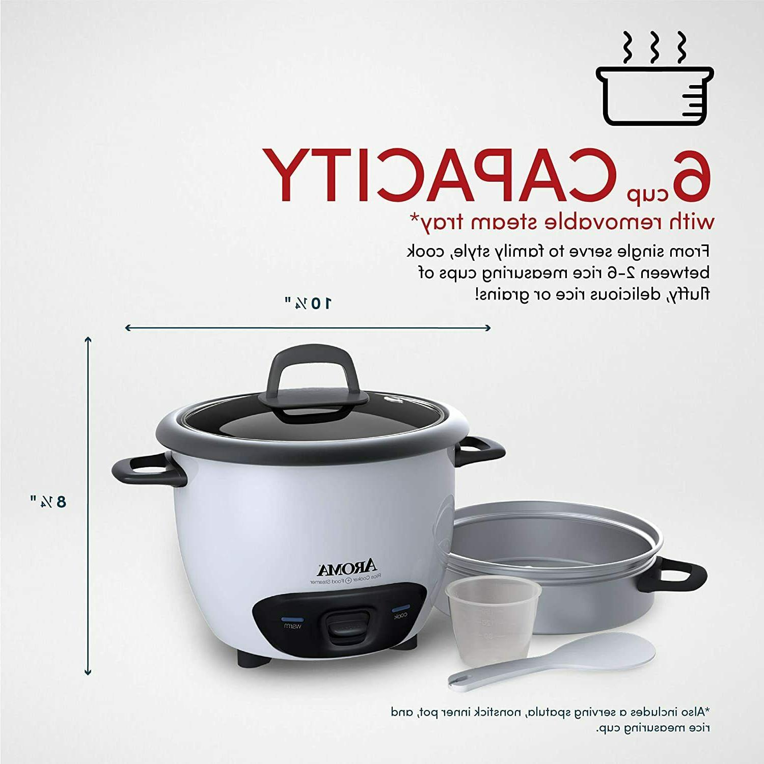 Pot Style and Food Steamer -White
