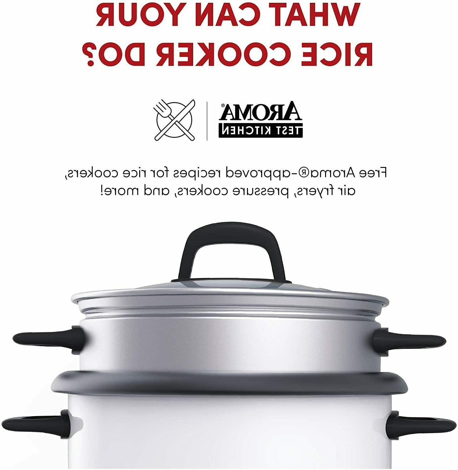 Pot and Food 6-Cup -White
