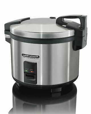 proctor silex commercial 37560r rice cooker warmer
