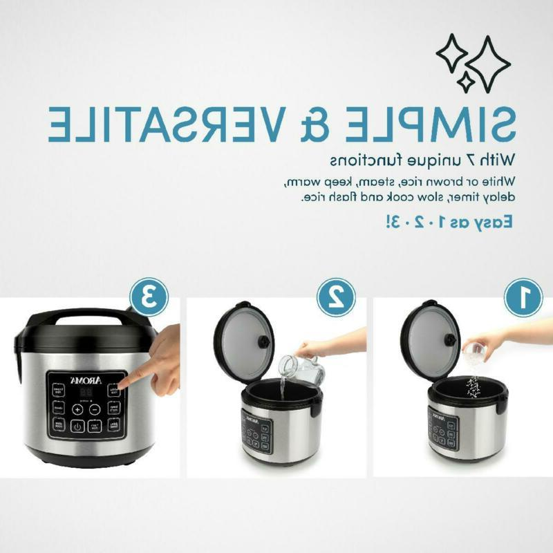 Programmable Automatic Cooker 20 Food Cook NEW