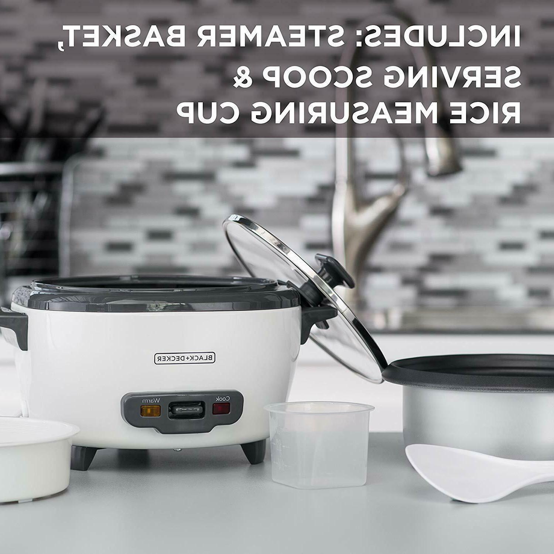Steamer Black Warmer 6 Cup 300W