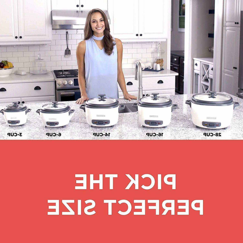 Rice Cooker And Steamer Basket Black Decker Warmer Pot