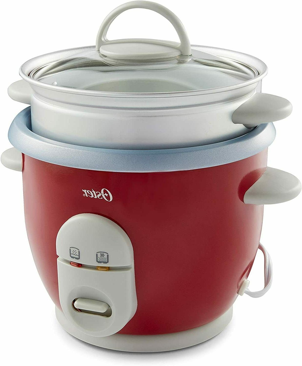 Rice Cooker 6 Oster Non Pot Warmer Electric Red