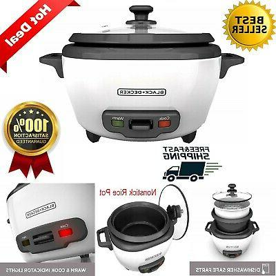 rice cooker and food steamer white automatic