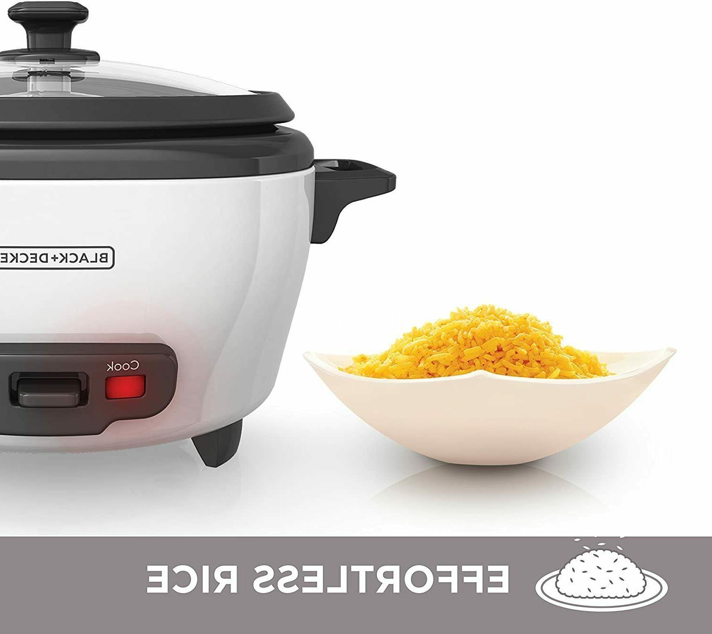 BLACK+DECKER Rice Food Steamer 300W White