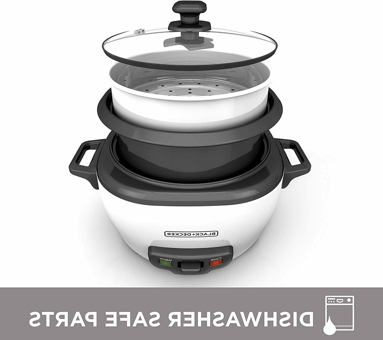 BLACK+DECKER Rice Food 6-Cup 300W Kitchen White