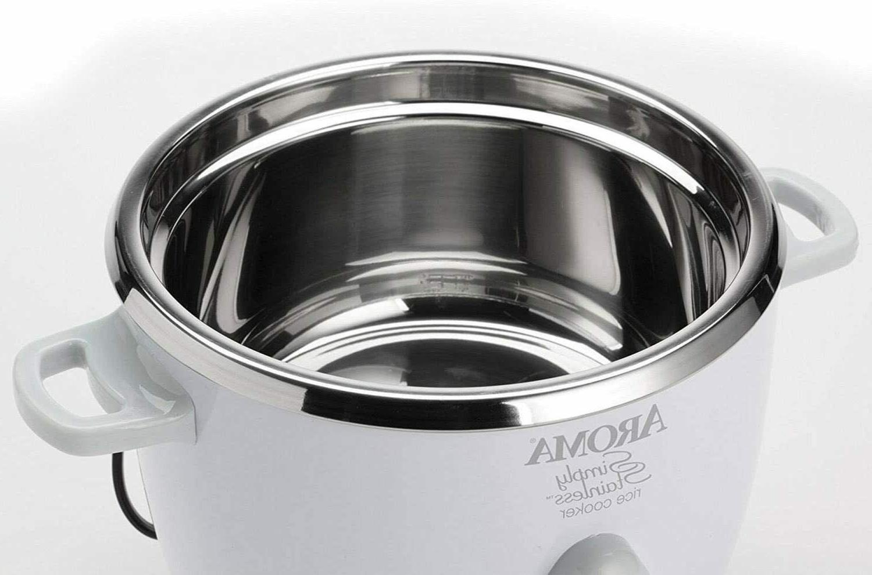 Aroma Housewares Cooker Steel