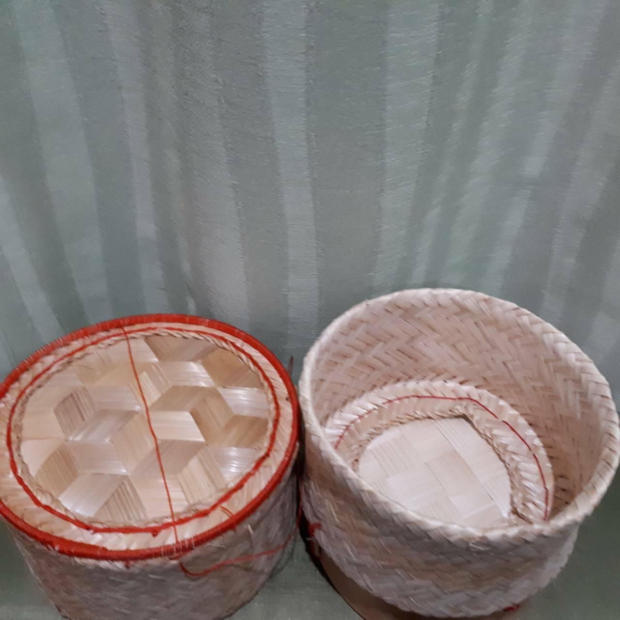 thai sticky rice basket midium size