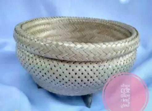 thai sticky rice steamer bamboo basket cooker