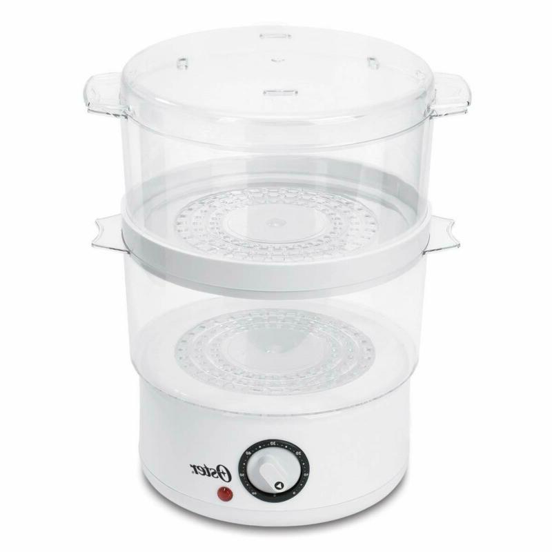 Tier Electric Vegetable Steamer Cooker Holders 9.5