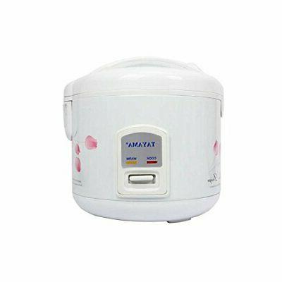 TRC-10 Cool Touch Rice Cooker and with Steam Basket,