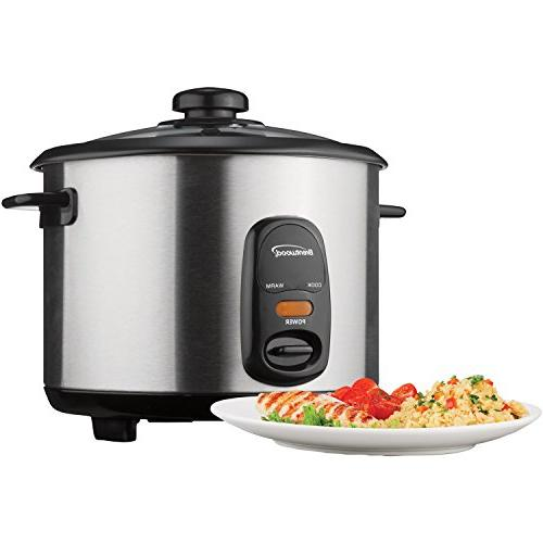 Brentwood TS-10 Rice Stainless