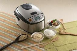 Zojirushi Micom 3-Cup Rice Cooker & Warmer - Stainless Black