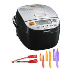 Zojirushi Micom Rice Cooker and Warmer with Color Chef Knife