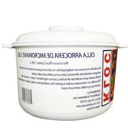 Microwave Rice Cooker Dishwasher Safe,1.85L / OLLA ARROCERA