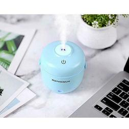Mini 230ml Rice Cooker USB Air Humidifier LED Night Home Off