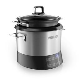 Multifunction All-In-One Cooking Pot and Rice Cooker, Stainl